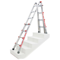 Little Giant Ladder in the Staircase Ladder position.